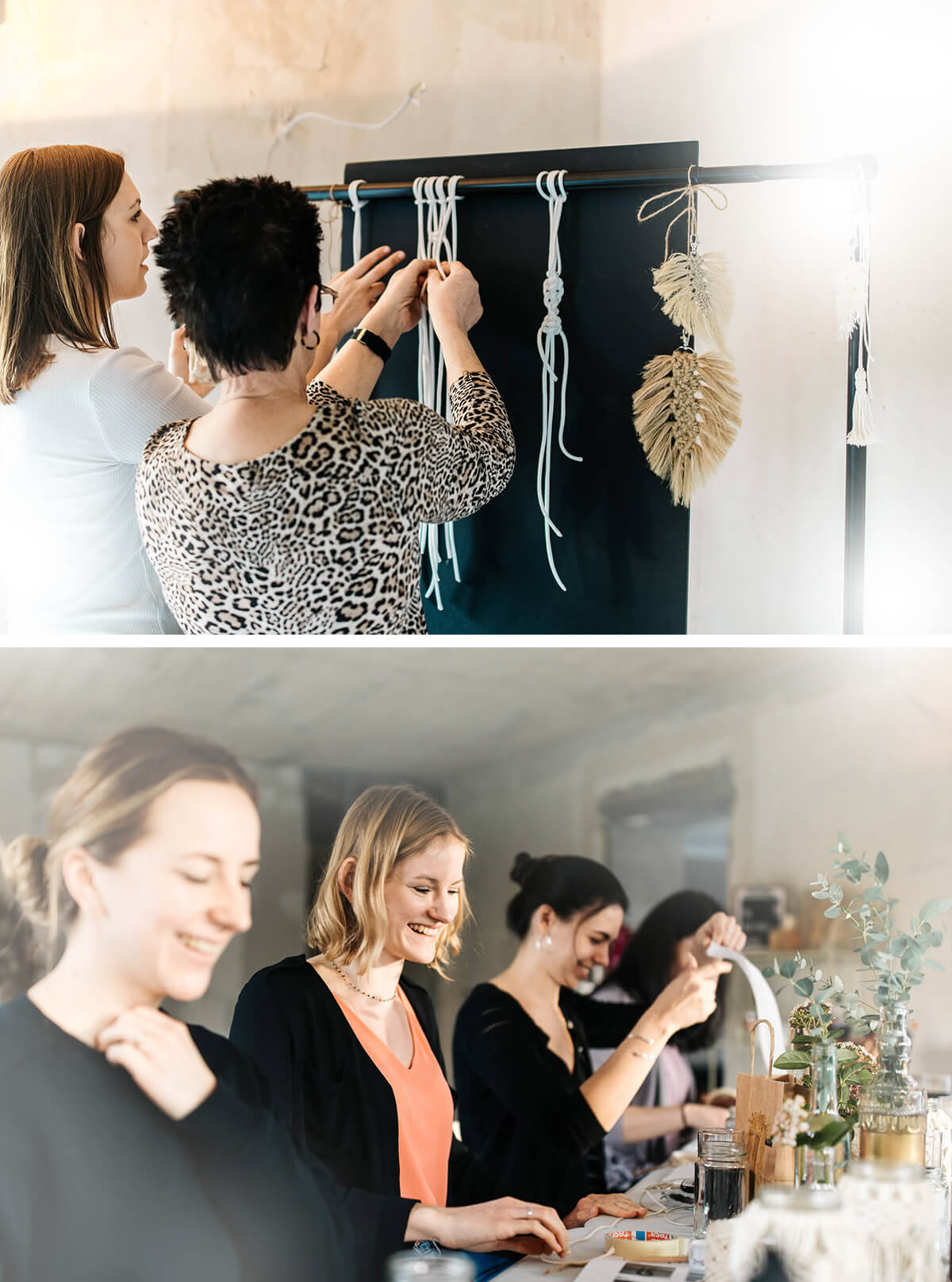 Monheim, Langenfeld, Düsseldorf, Workshop, Makramee, DIY, JGA, Jungesellinnenabschied, Familienzeit